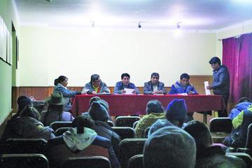 Cívicos se movilizan el 10 de noviembre por atención a demandas