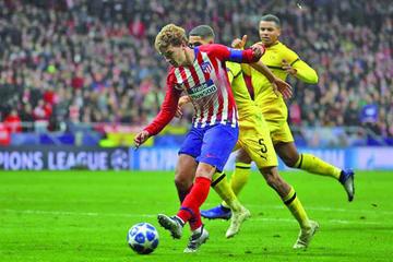 Atlético de Madrid se cobra la revancha ante Dortmund
