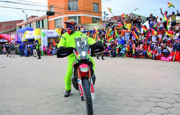 Dakar tendrá a ocho bolivianos
