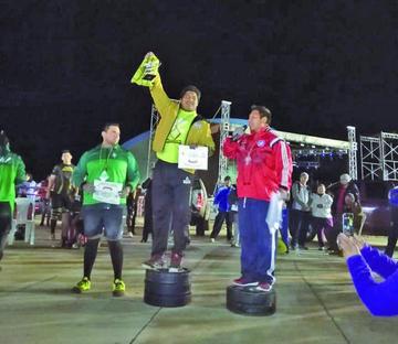 """Potosinos suben al podio en el torneo Internacional del """"Hombre Más Fuerte"""""""