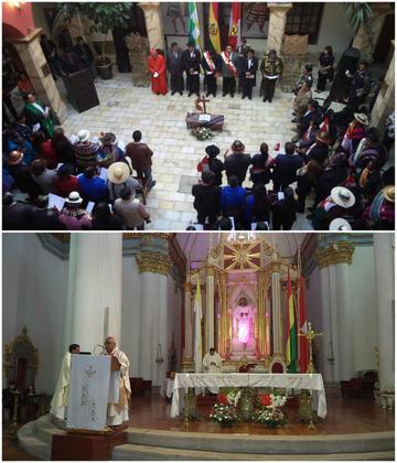 Iglesias piden unidad de los potosinos en su aniversario