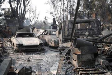 Sube a 23 los fallecidos por los incendios en Estados Unidos
