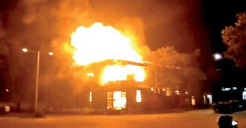 Roboré: queman puesto policial tras gasificación a un bloqueo