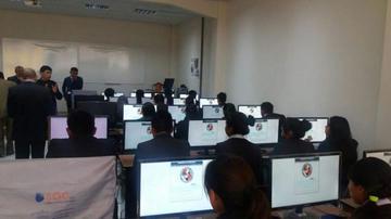 UATF aplica  examen a más de 4.000 postulantes