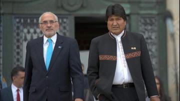 Evo Morales y Carlos Mesa se enfrentan por el caso Lava Jato