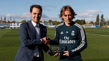 Luka Modric suma otro premio