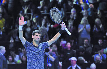 Djokovic logra las semis por octava vez