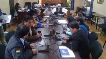 Comisión Mixta habilita a 20 de 35 postulantes a vocales del TSE