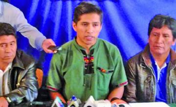Cocaleros del Chapare irán a inscribir al binomio del MAS