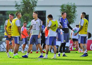 Argentina entrena con público en Córdoba