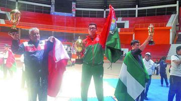 Potosí sube al podio en el nacional de Taekwondo