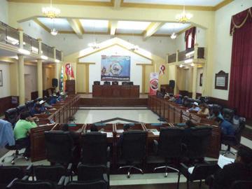 Asambleístas departamentales aprueban recursos para edificio de ex Correos