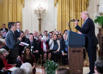 La Casa Blanca amenaza con volver a retirar credencial a CNN