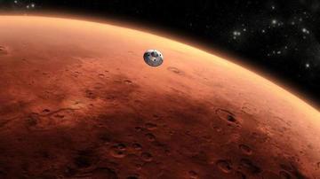 Buscarán señales de vida en lago de Marte