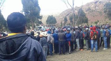 Comunarios de Uncía matan a pedradas a dos supuestos ladrones