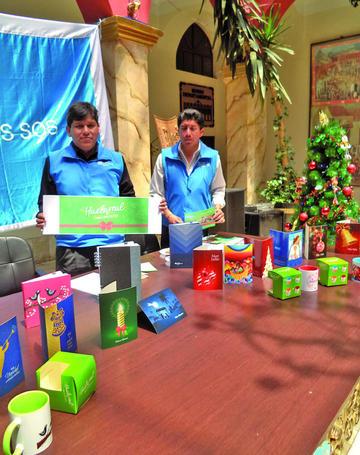 Aldeas Infantiles presenta colección navideña 2018