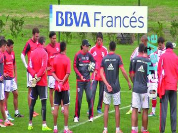 River Plate se aísla antes de la gran final de la Copa