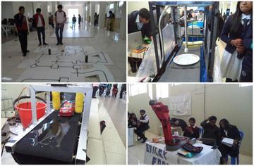 Estudiantes de Mecatrónica exponen los mejores trabajos