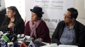 Presidenta del TSE brindará un informe por militancia trucha