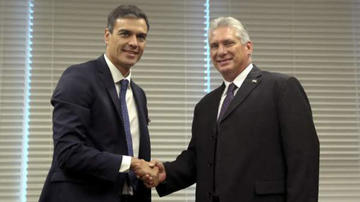 Cuba y España analizan relaciones bilaterales  ante visita de Sánchez