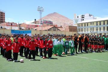 Potosí es sede del torneo de Ligas menores de la Conmebol