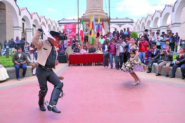 Exhiben la danza de seis países latinos