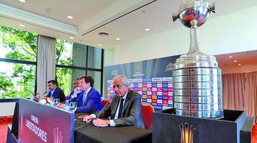 Conmebol decide hoy cuándo y cómo se jugará la final de Libertadores
