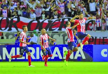 Junior se cita con Atlético Paranaense en la final de la Copa Sudamericana