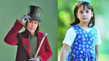 Matilda y Charlie y Fábrica  de Chocolate son animadas
