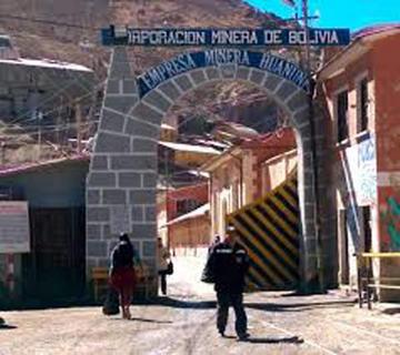 La estatal Huanuni no logra subir la producción