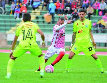La primera final se jugará en Tarija