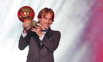 Luka Modric gana el Balón de Oro