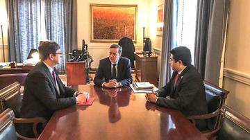 Demócratas informa a la OEA sobre la candidatura de Evo