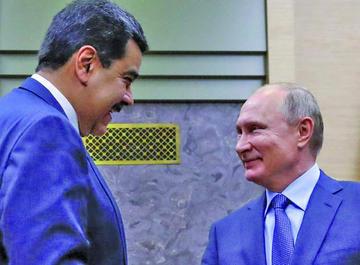 Putin condena cualquier intento de cambiar la situación en Venezuela