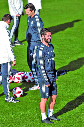 """Real recibe a Melilla en el """"Bernabéu"""", con la novedad de Isco entre sus filas"""