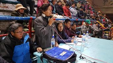 Solicitan transparencia a la alcaldesa de Uyuni