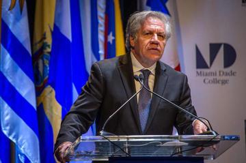 Luis Almagro busca reelección a la Secretaría General de la OEA