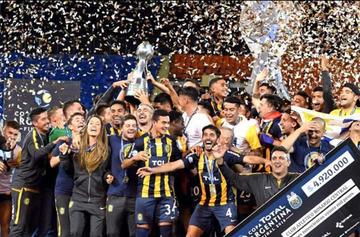 Rosario Central se corona campeón