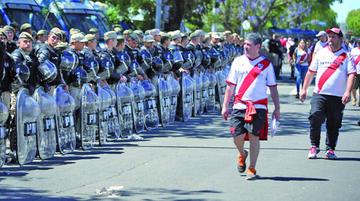 Desplegarán alrededor de 4.000 efectivos para dar seguridad en la Copa Libertadores