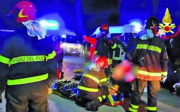 Una estampida humana causa seis personas muertas en Italia