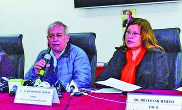 El MAS ahora asegura que no enjuiciará a dos vocales del Tribunal