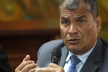 Correa suma una nueva denuncia por malversar fondos públicos