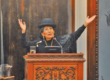 Muere la primera mujer de pollera en ocupar un cargo en el Legislativo