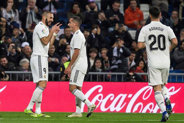 "Real Madrid vence sin brillo a Rayo Vallecano en el ""Bernabéu"""