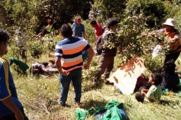 Suben a siete los muertos del accidente en Los Yungas
