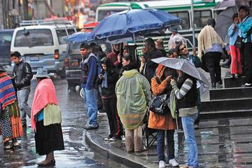 Senamhi anuncia presencia de lluvias en Potosí hasta el domingo