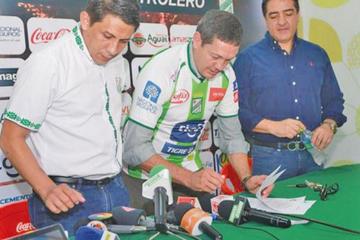 Soria asume el mando de Oriente Petrolero