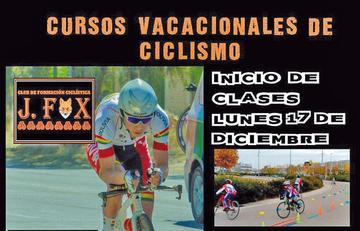 El Club J. FOX abre cursos vacacionales  de ciclismo