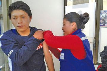 Intensifican control para evitar casos de difteria y sarampión