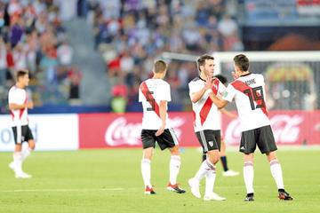 River festeja la Libertadores con hinchas